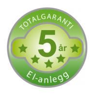 Elfag totalgaranti logo